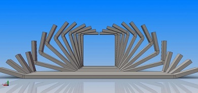 LW600(150×150mm)  Direct Forming to Square Pipe Mill