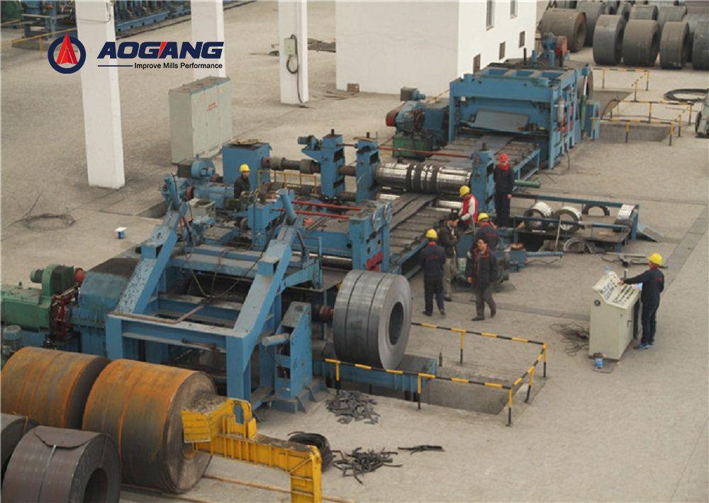 Heavy Gauge Cut to Length Line